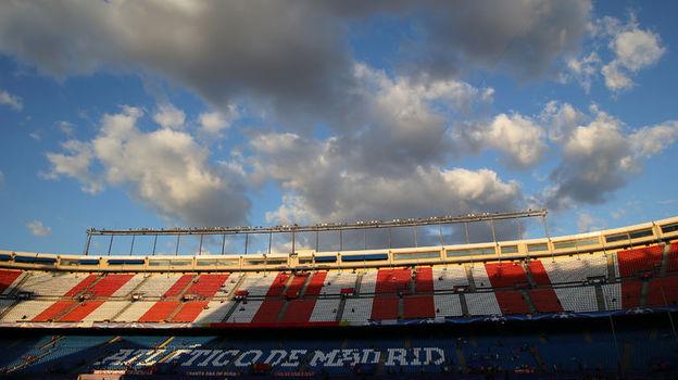 Стадион им. Висенте Кальдерона в Мадриде. Фото Reuters