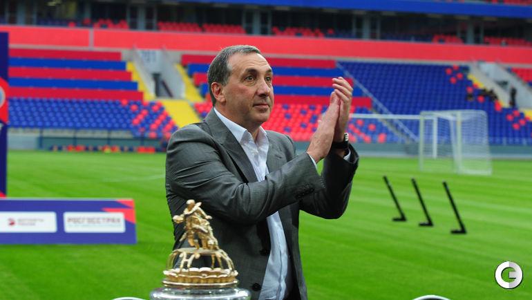 2016 год. Евгений ГИНЕР на стадионе ЦСКА.