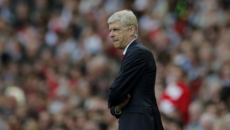 """Впервые за 21 год, с весны 1996-го, """"Арсенал"""" Арсена ВЕНГЕРА финишировал вне первой четверки. Фото Reuters"""