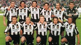 """1998 год. Игроки """"Ювентуса""""."""