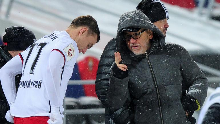 Александр САЛУГИН и Гаджи ГАДЖИЕВ. Фото Александр ФЕДОРОВ, «СЭ»