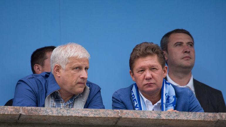 Сергей ФУРСЕНКО и Алексей МИЛЛЕР. Фото Кристина КОРОВНИКОВА