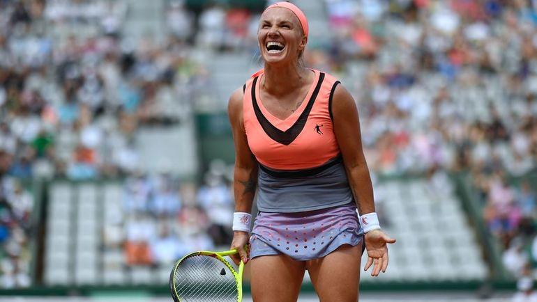 Сегодня. Париж. Светлана КУЗНЕЦОВА пробилась во второй круг Roland Garros. Фото AFP