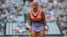 Сегодня. Париж. Светлана КУЗНЕЦОВА пробилась во второй круг Roland Garros.
