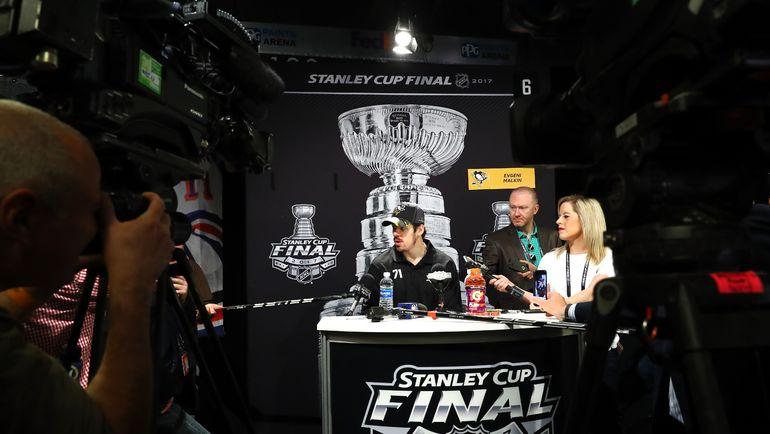 Евгений МАЛКИН к финальной битве сезона готов. Фото AFP