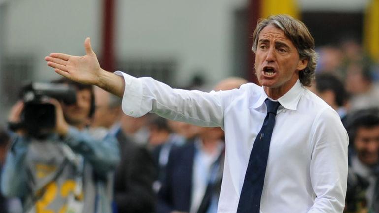 Роберто МАНЧИНИ. Фото AFP
