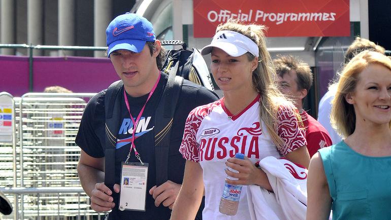 Мария КИРИЛЕНКО (справа) и Александр ОВЕЧКИН. Фото Алексей ИВАНОВ, «СЭ»