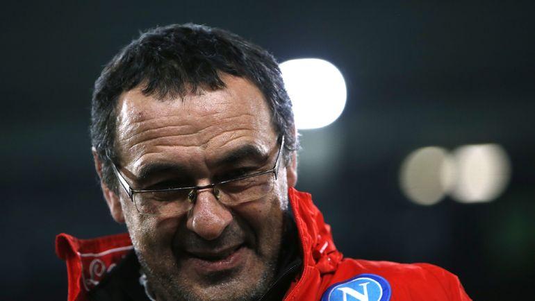 "Маурицио САРРИ мог оказаться в ""Зените""? Фото AFP"