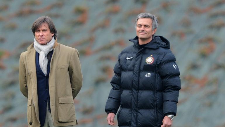 """Габриеле ОРИАЛИ (слева) может стать помощником Роберто Манчини в """"Зените"""". Фото AFP"""
