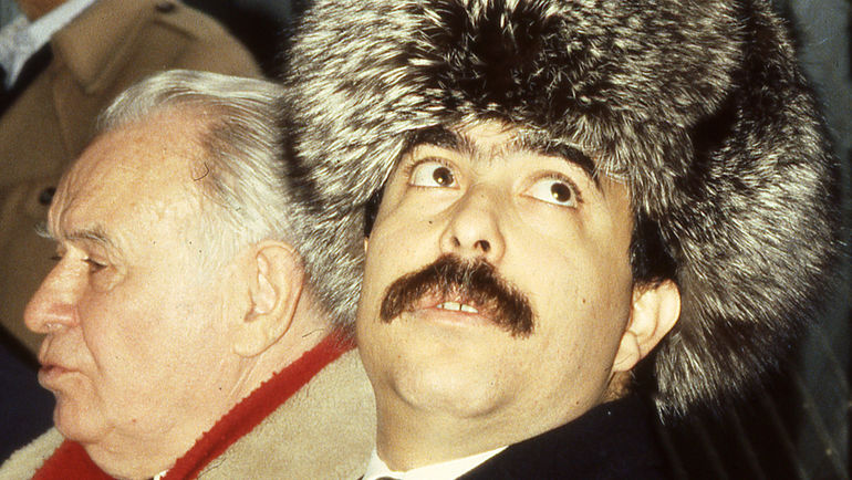 "Хуссам АЛЬ-ХАЛИДИ и Константин БЕСКОВ. Фото Александр ФЕДОРОВ, ""СЭ"""