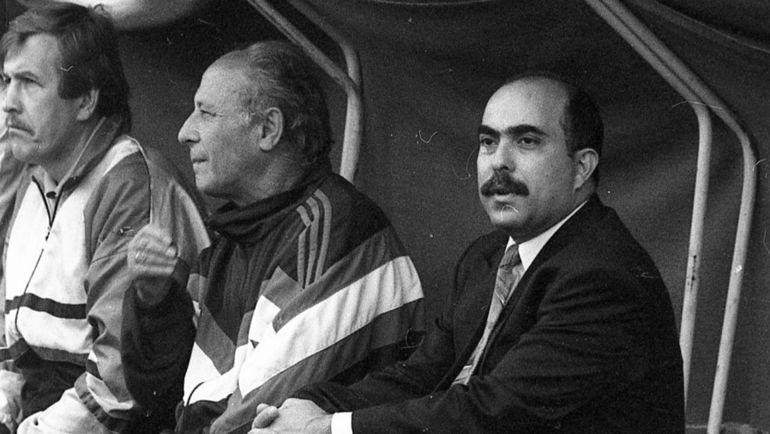 "1992 год. Хуссам АЛЬ-ХАЛИДИ (справа). Фото Александр ФЕДОРОВ, ""СЭ"""