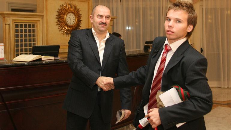 2006 год. Станислав ЧЕРЧЕСОВ и Роман ШИШКИН. Фото Александр ВИЛЬФ