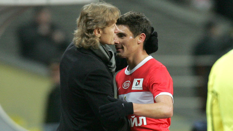 2011 год. АЛЕКС (справа) и Валерий КАРПИН.