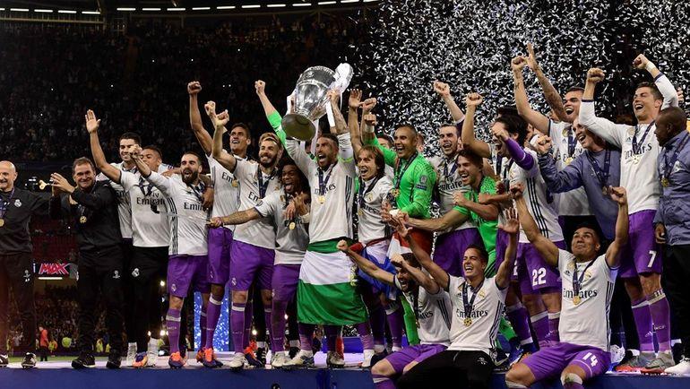 """Суббота. Кардифф. """"Ювентус"""" - """"Реал"""" - 1:4. Мадридцы сделали невозможное - выиграли вторую Лигу чемпионов подряд. Фото AFP"""