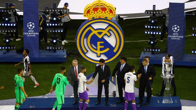 """Суббота. Кардифф. """"Ювентус"""" - """"Реал"""" - 1:4. Церемония награждения чемпионов. Фото Reuters"""