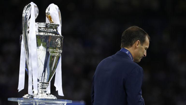 "Суббота. Кардифф. ""Ювентус"" - ""Реал"" - 1:4. Массимилиано АЛЛЕГРИ. Фото Reuters"