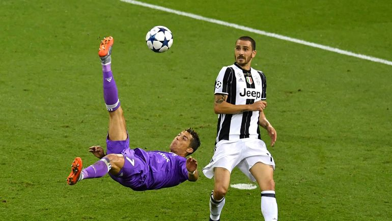 """Суббота. Кардифф. """"Ювентус"""" - """"Реал"""" - 1:4. В атаке КРИШТИАНУ РОНАЛДУ. Фото AFP"""