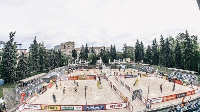 Мировой тур по пляжному волейболу проходит в Москве. Фото Инстаграм Всероссийской федерации волейбола.