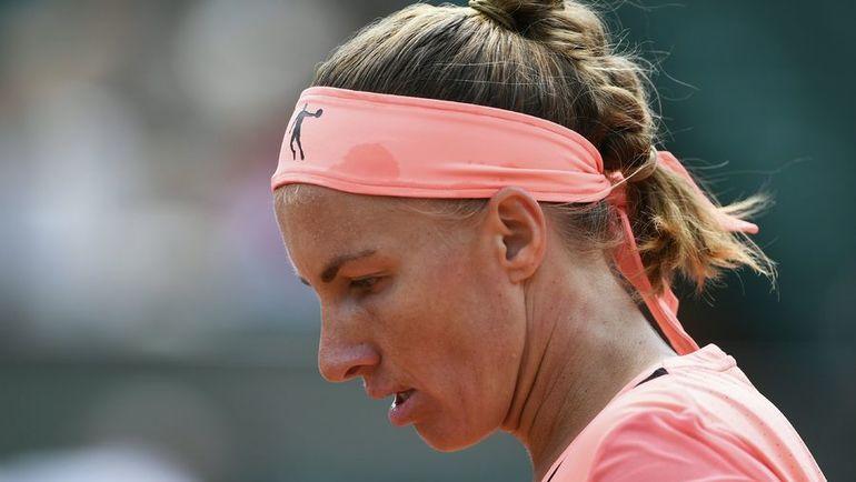 Сегодня. Париж. Светлана КУЗНЕЦОВА покидает Roland Garros. Фото AFP