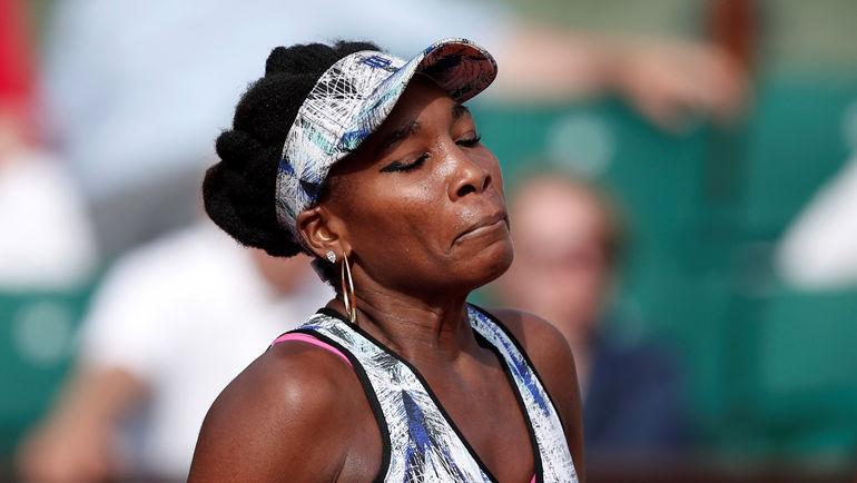 Винус УИЛЬЯМС покидает Roland Garros. Фото Reuters