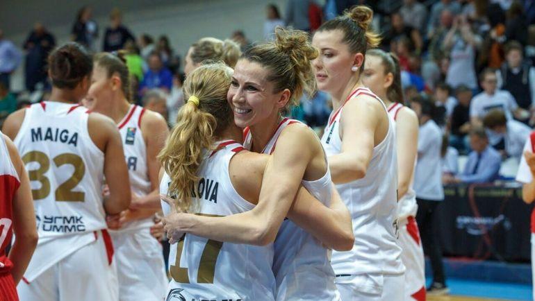 Женская сборная России дважды обыграла Турцию. Фото Официальный Твиттер РФБ