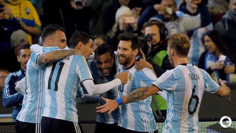 Сегодня. Мельбурн. Бразилия - Аргентина - 0:1.
