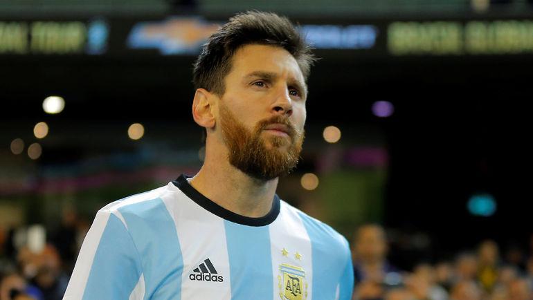 Капитан сборной Аргентины Лионель МЕССИ. Фото REUTERS