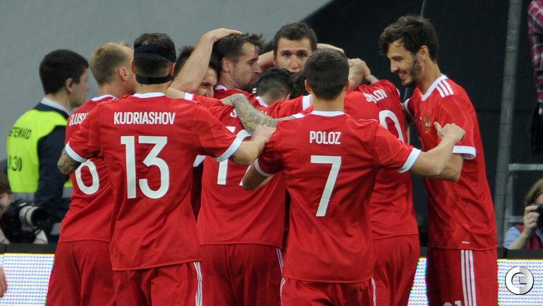 Сегодня. Москва. Россия - Чили - 1:1.