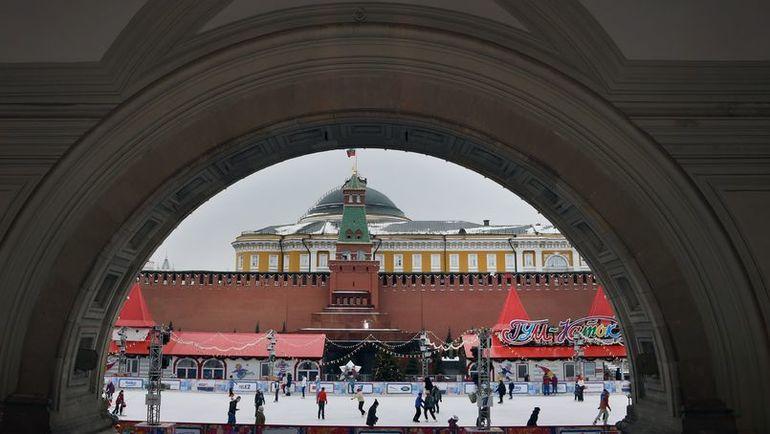 На Красной площади одновременно выступят любители и профессионалы. Фото AFP