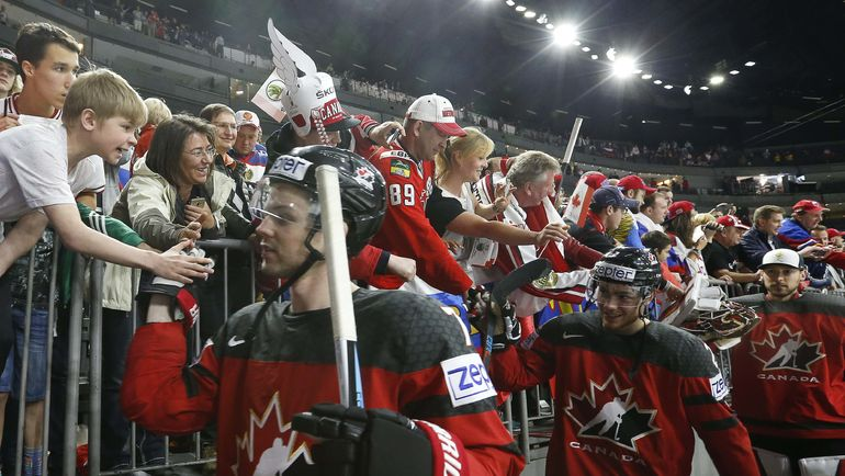 Сборная Канады приедет на Евротур. Фото REUTERS