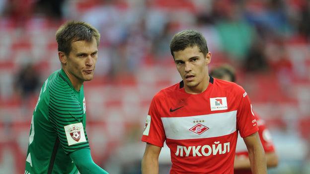 Артем РЕБРОВ и Роман ЗОБНИН. Фото Александр ФЕДОРОВ, «СЭ»