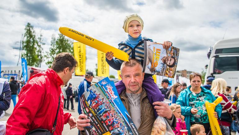Болельщики на Нижегородском кольце. Фото Пресс-служба СМП РСКГ