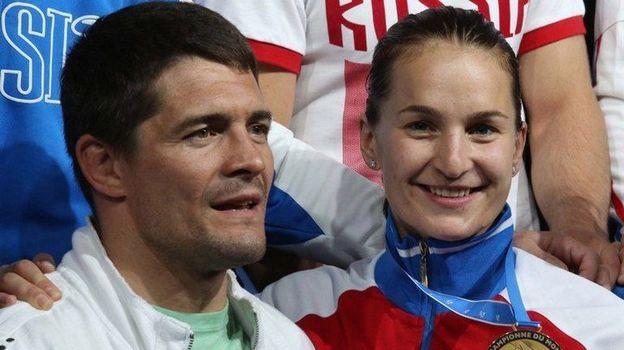 Софья ВЕЛИКАЯ (справа) и Алексей МИШИН. Фото Reuters
