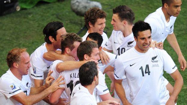 Новая Зеландия - первый соперник сборной России на Кубке конфедераций. Фото AFP