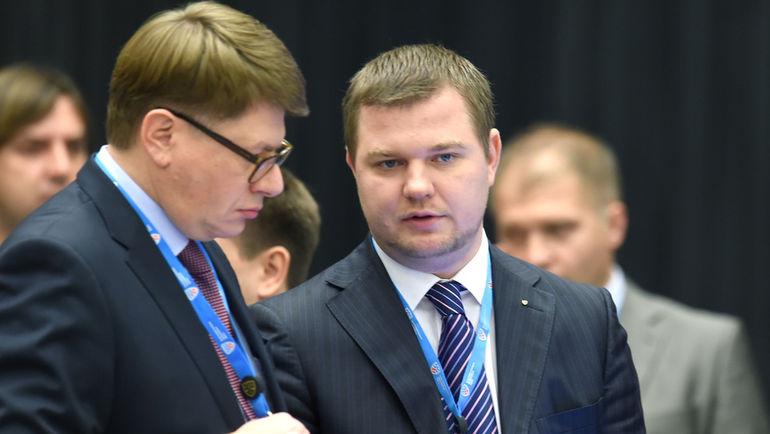 Алексей КИРРЕВ (справа). Фото Владимир БЕЗЗУБОВ, photo.khl.ru