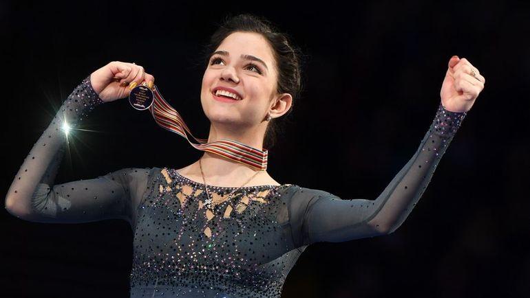 Двукратная чемпионка мира Евгения МЕДВЕДЕВА. Фото AFP