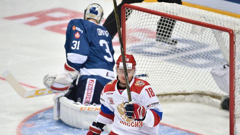 Дмитрий КУГРЫШЕВ в составе сборной России. Фото AFP
