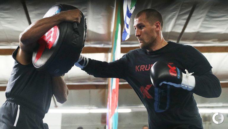 30 мая. Окснард. Сергей КОВАЛЕВ на тренировке в Калифорнии.
