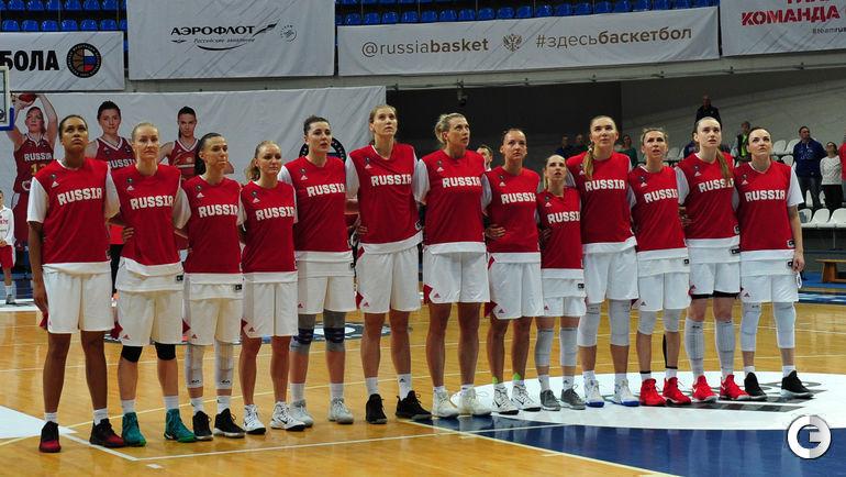 Женская сборная России.