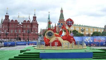 Москва: дождь