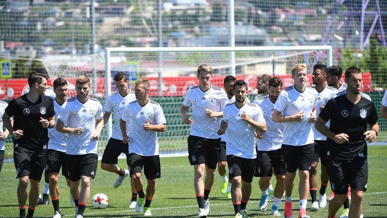 Суббота. Сочи. Тренировка сборной Германии. Фото AFP