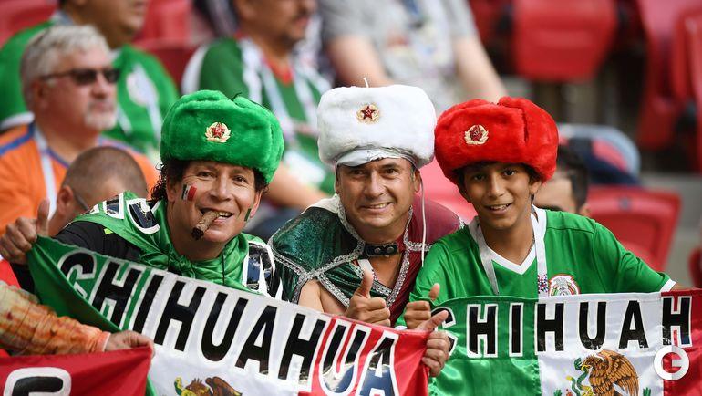Картинки по запросу болельщики сборной мексики в россии