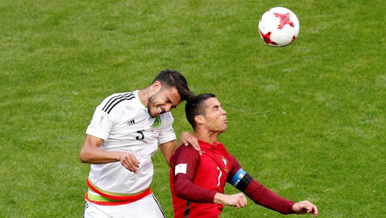 Сегодня. Казань. Португалия - Мексика - 2:2. Соперники сборной России сыграли вничью. Фото Reuters