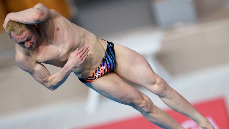 Илья ЗАХАРОВ стал чемпионом Европы в индивидуальных прыжках с трехметрового трамплина. Фото Максим БОГОВИД/РИА Новости