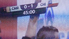 Воскресенье. Москва. Камерун - Чили - 0:2. Главный арбитр Дамир Скомина успел засчитать гол Чили перед перерывом, но следом отменил его после подсказки видеоассистента.