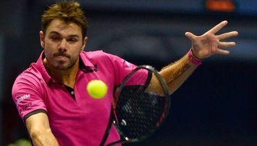 25 сентября 2016 года. Санкт-Петербург. Стэн ВАВРИНКА в финале St. Petersburg Open. Фото AFP