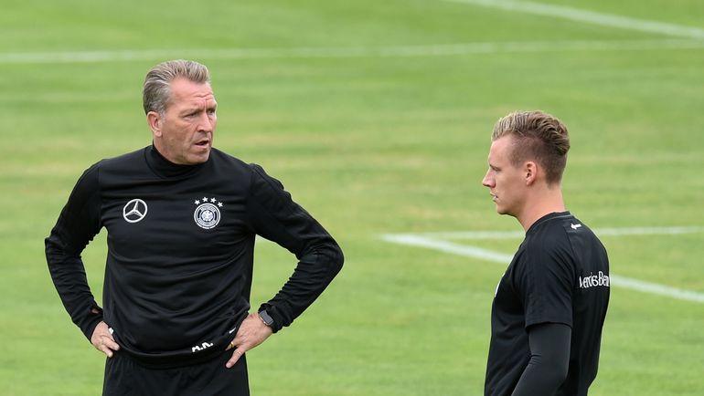 Бернд ЛЕНО (справа) и Андреас КЕПКЕ. Фото AFP
