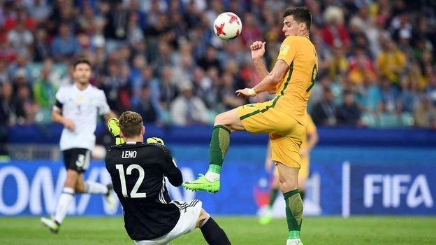 Германия - Австралия:  два подарка от Лено