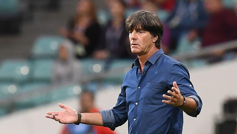Сегодня. Сочи. Австралия - Германия - 2:3. Йоахим ЛЕВ. Фото AFP