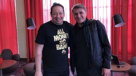 Июнь. Волгоград. Олег ВЕРЕТЕННИКОВ (справа) и Леонид СЛУЦКИЙ.